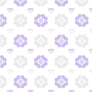 Hmong Symbols 3 - Purple