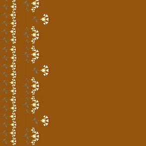 Border-saddle tan