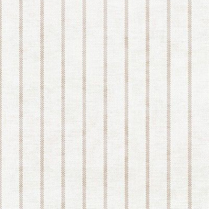 AEGEAN SIMPLE TICKING STRIPE JUTE