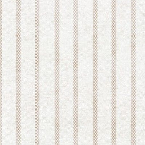 AEGEAN WIDE SPACED TICKING JUTE