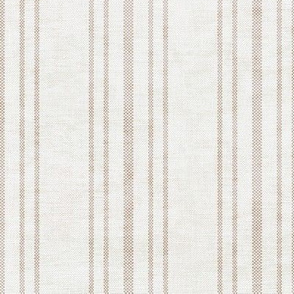 AEGEAN MULTI SIMPLE TICKING STRIPE JUTE