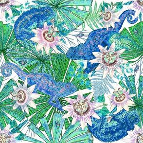 Emerald Canopy for Blue Chameleons (white)