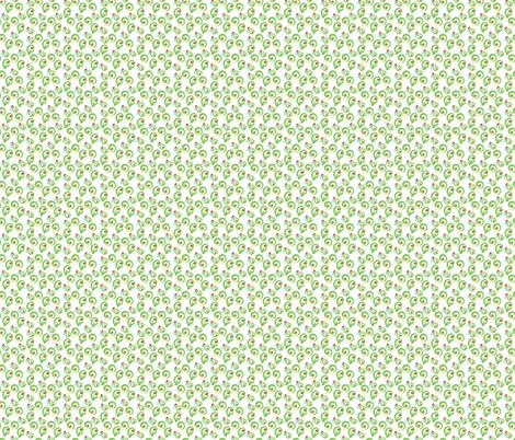 Fern Flowers fabric by wiren_creative on Spoonflower - custom fabric