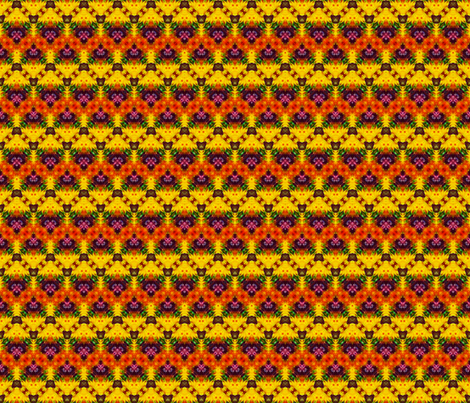 Rich Mini Mayan Zigzags fabric by just_meewowy_design on Spoonflower - custom fabric