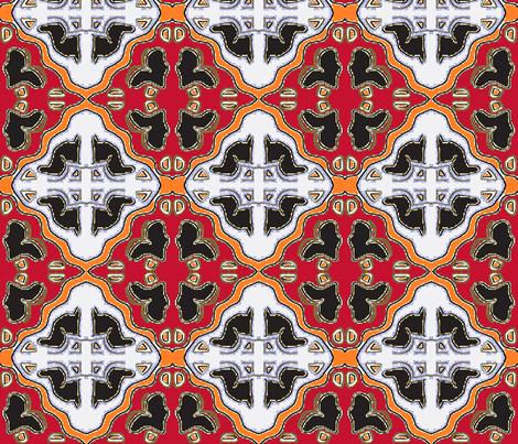 Ajabu 19 fabric by tabasamu_design on Spoonflower - custom fabric