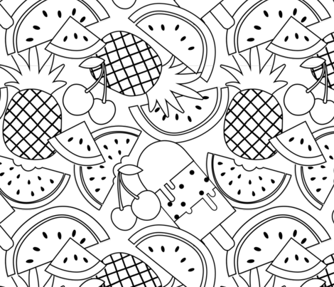 Sweet Summer fabric by design_edit_ on Spoonflower - custom fabric