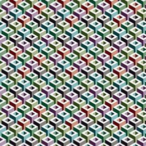 Geometric Pattern: Tube: Colours