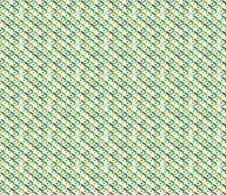 Geometric Pattern: Tube: Spring fabric by red_wolf on Spoonflower - custom fabric
