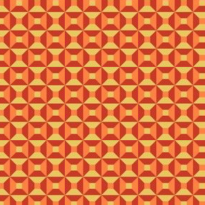 Geometric Pattern: Square Check: Summer