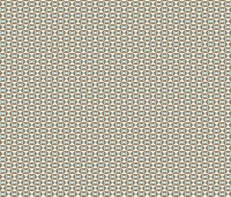 Geometric Pattern: Square Check: Brown fabric by red_wolf on Spoonflower - custom fabric