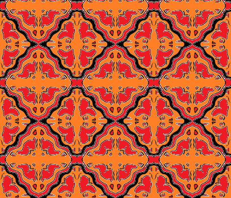 Ajabu 12 fabric by tabasamu_design on Spoonflower - custom fabric
