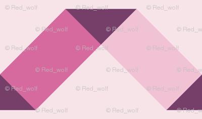 Geometric Pattern: Spiral: Blush