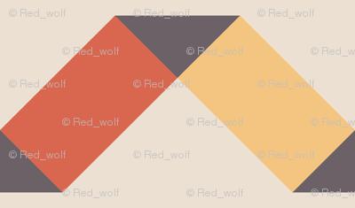 Geometric Pattern: Spiral: Sunset