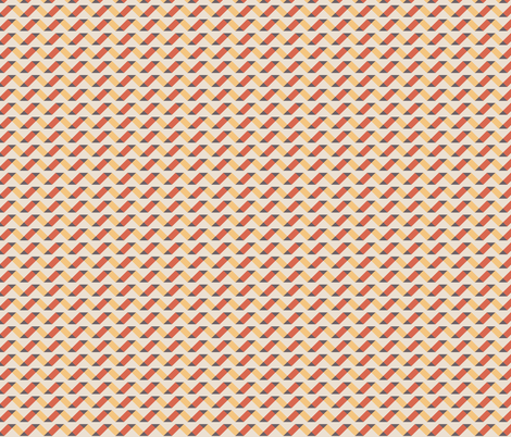 Geometric Pattern: Spiral: Sunset fabric by red_wolf on Spoonflower - custom fabric