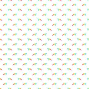 seaturtle polkadots rainbow