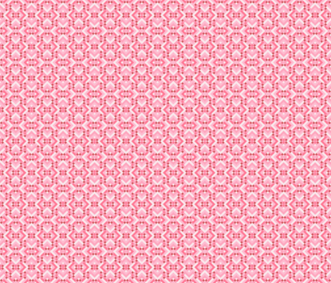 Geometric Pattern: Woven Rug: Pink fabric by red_wolf on Spoonflower - custom fabric