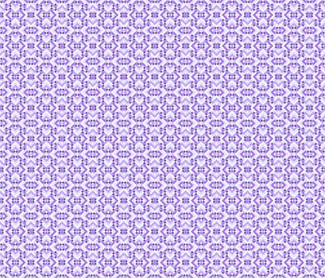 Geometric Pattern: Woven Rug: Purple fabric by red_wolf on Spoonflower - custom fabric