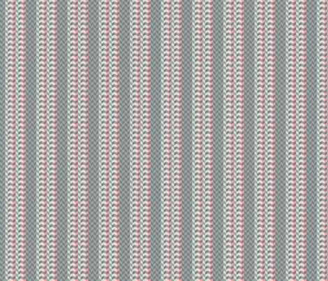Geometric Pattern: Chevron: Cacti fabric by red_wolf on Spoonflower - custom fabric