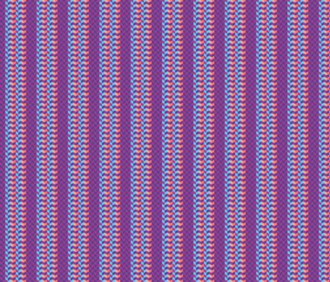 Geometric Pattern: Chevron: Festive fabric by red_wolf on Spoonflower - custom fabric