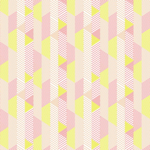 diagonal lines in peachy pink