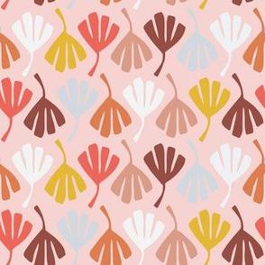 Fan Leaves // Pink