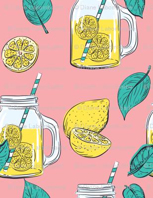 Lemon Time -  Pink