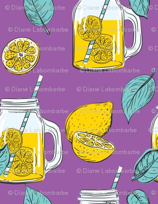 Lemon Time - Purple