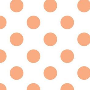 peach dot