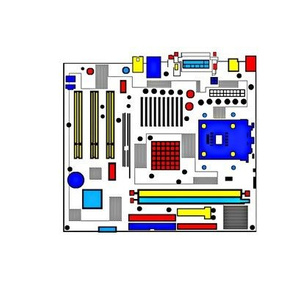 Another Mondrian Motherboard