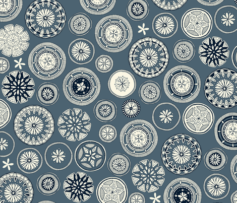 pango slate fabric by scrummy on Spoonflower - custom fabric