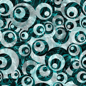 Mother of All Circles Teal