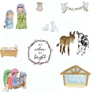 All is Calm All is Bright  Nativity