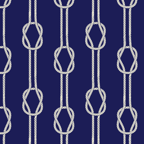Crystal Cove - Navy 3 fabric by diane555 on Spoonflower - custom fabric