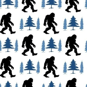 Sasquatch Blue Trees