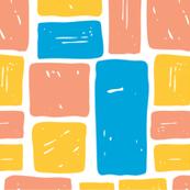 Color Blocked (warm palette)