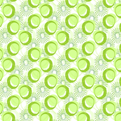 Kiwi Fruit Abstract III