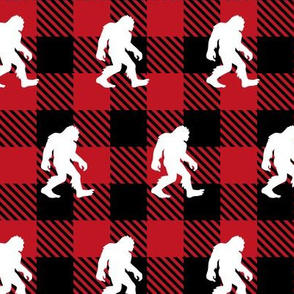 Buffalo Plaid Bigfoot