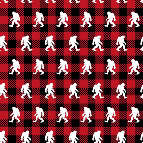 Red Buffalo Plaid Sasquatch