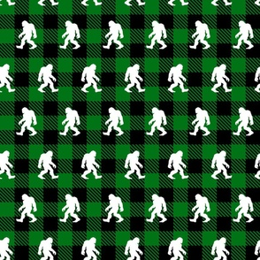 Buffalo Plaid Sasquatch Green