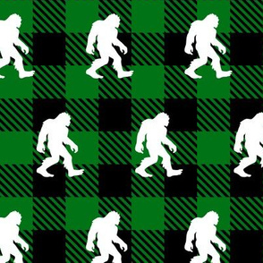 Buffalo Plaid Bigfoot Green