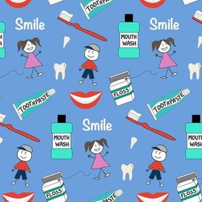 Kids Dental Blue