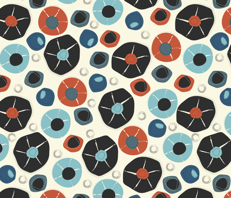 Wabi Sabi I fabric by meredith_watson on Spoonflower - custom fabric