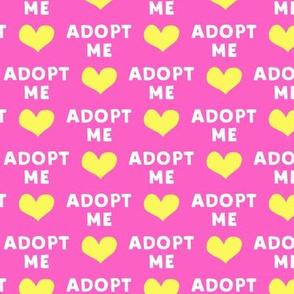 adopt me - pink & yellow