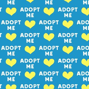 adopt me - blue & yellow