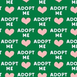 adopt me - pink & green