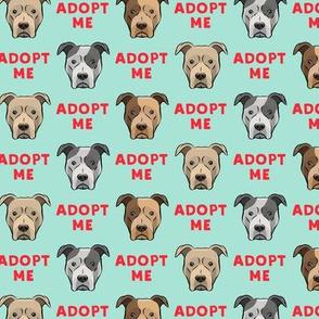 adopt me - pit bulls on mint