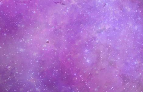 Purple galaxy fabric by aspie_giraffe on Spoonflower - custom fabric