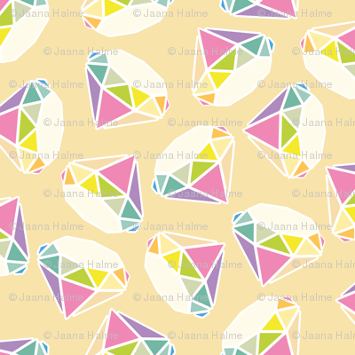 Rainbow Diamond Yellow