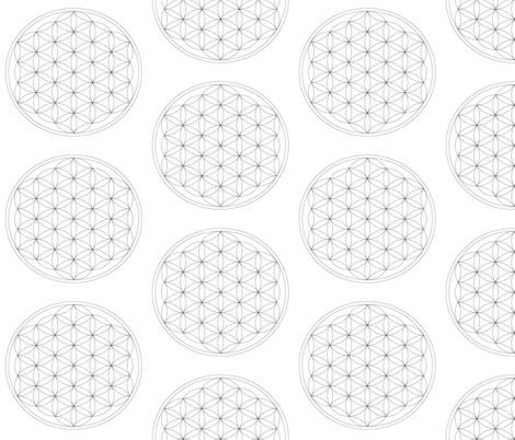 Crystal_grid_v1 fabric by luasun on Spoonflower - custom fabric