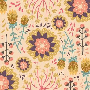 PastelFlower Streublumen rosa